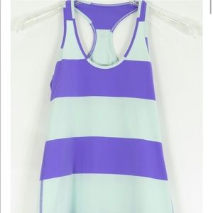 Lululemon purple and teal tank